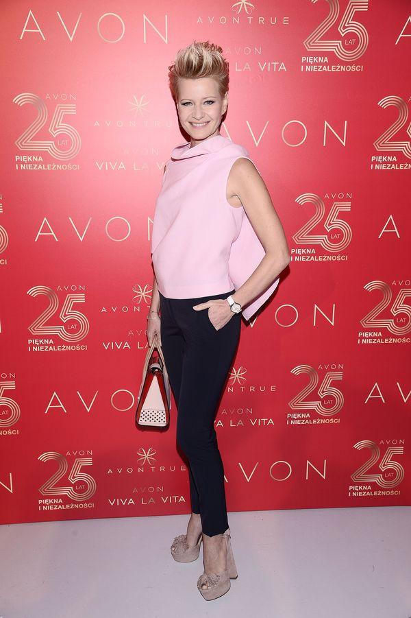 Małgorzata Kożuchowska z ulubioną torebką Jennifer Lopez (FOTO)