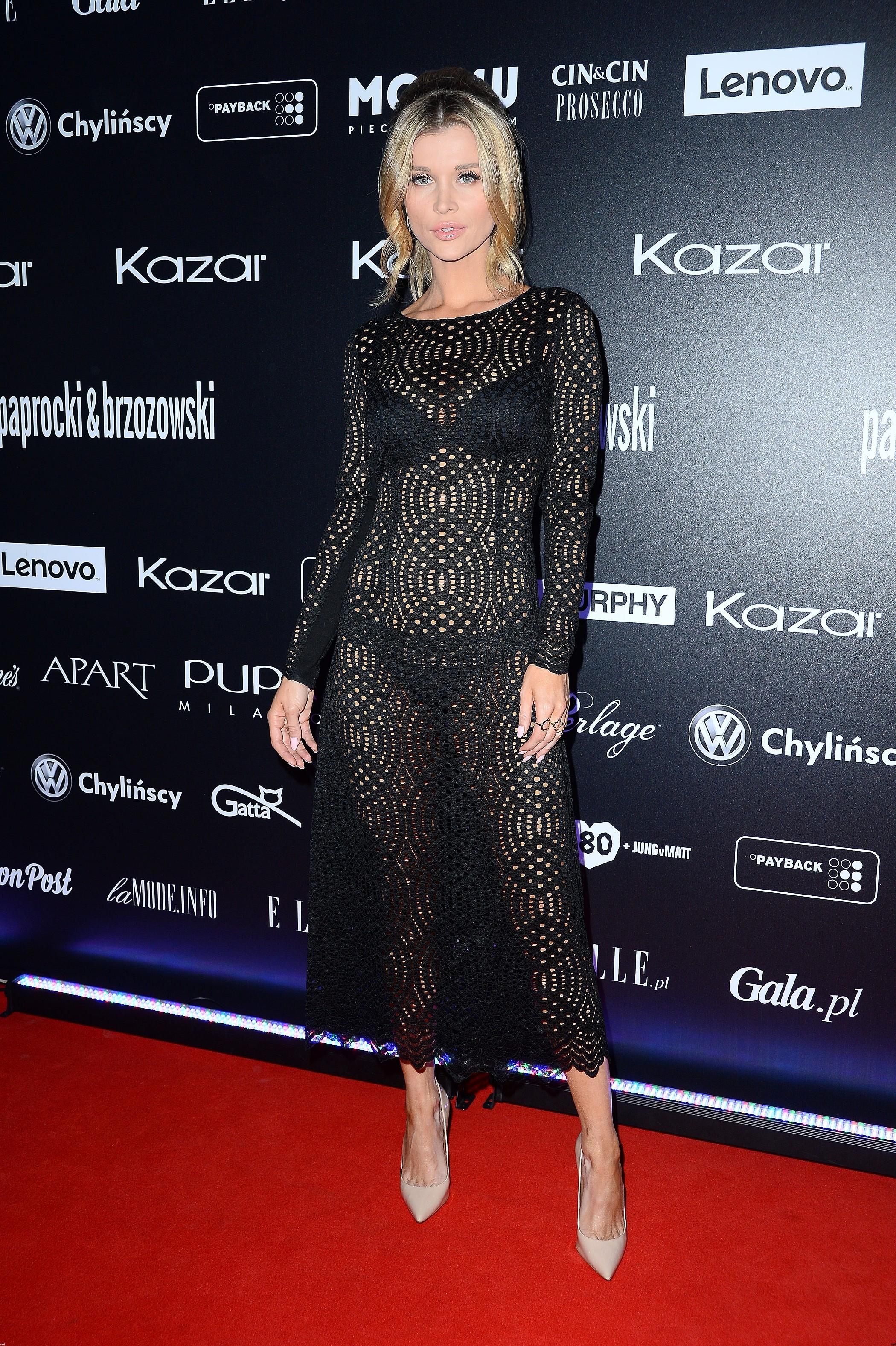 Joanna Krupa na pokazie Paprocki&Brzozowski pokazała naprawdę dużo!