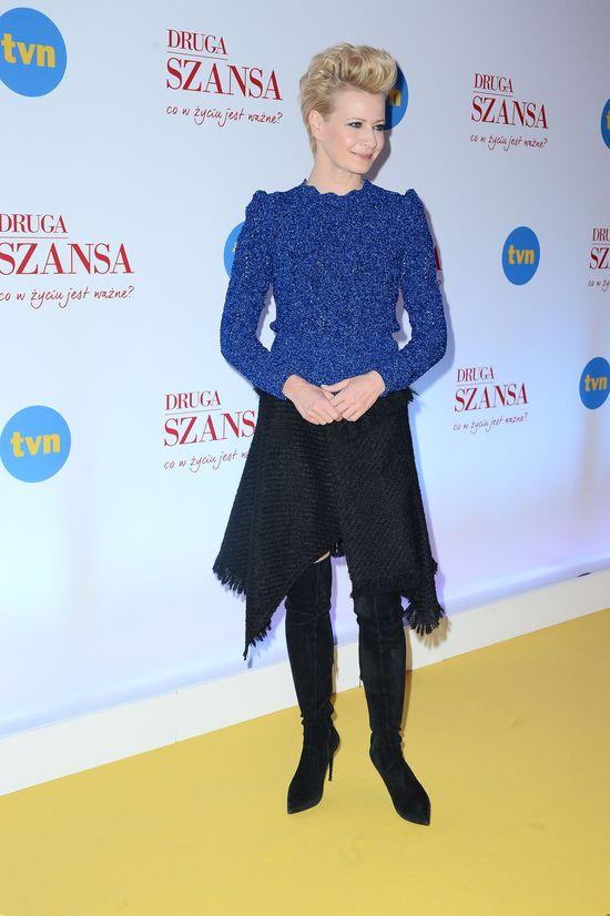 Małgorzata Kożuchowska założyła TĘ spódnicę i zrobiła furorę (FOTO)
