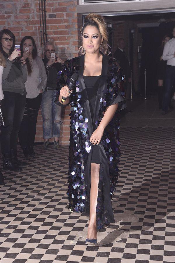 Patricia Kazadi znowu założyła na siebie szlafroczek - nie popisała się? (FOTO)