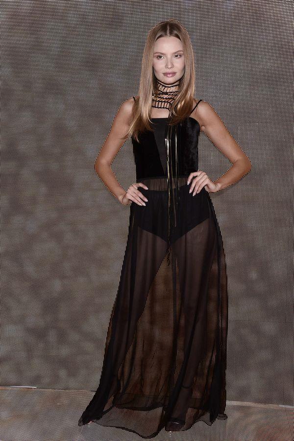 Magdalena Frąckowiak w najdziwniejszej sukience ostatnich miesięcy (FOTO)