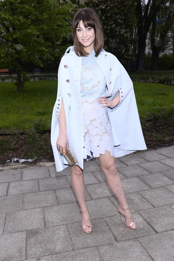 Julia Kamińska wygląda świetnie! Udowadnia, że błękit to jej kolor (FOTO)