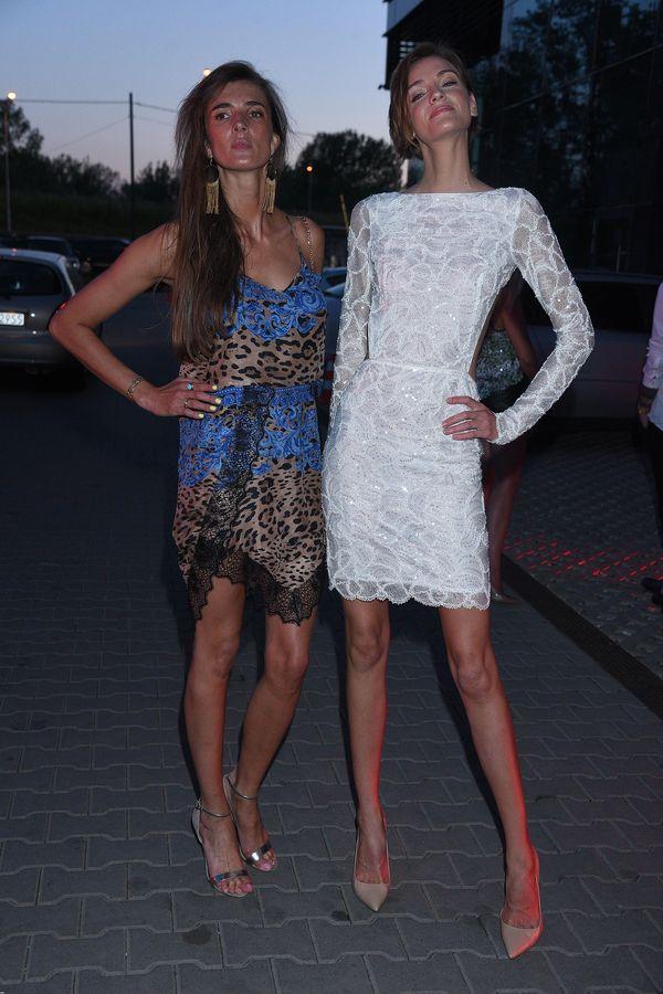 Renata Kaczoruk i Kamila Szczawińska, czyli dwie najchudsze osoby na imprezie