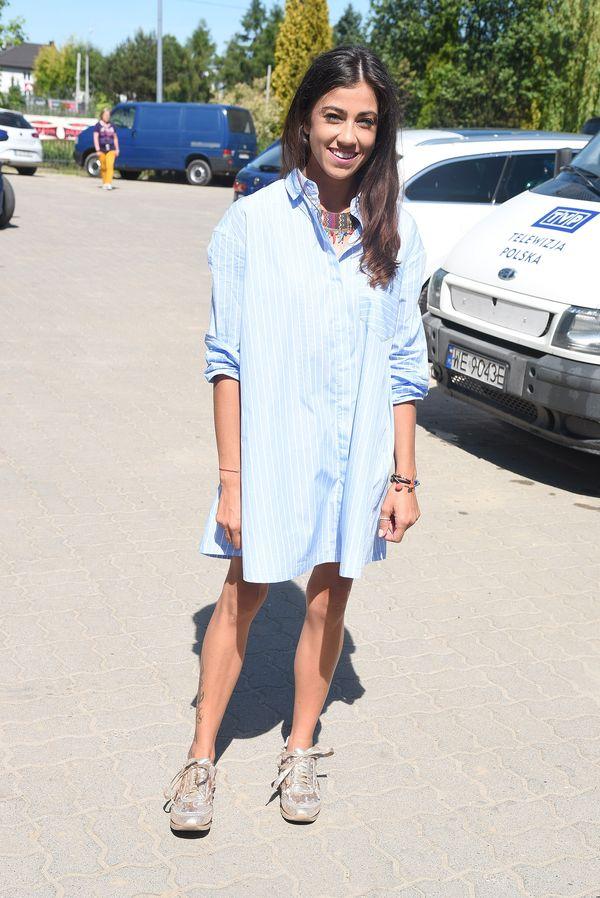 Maja Hyży w najmodniejszej sukience tego sezonu? (FOTO)