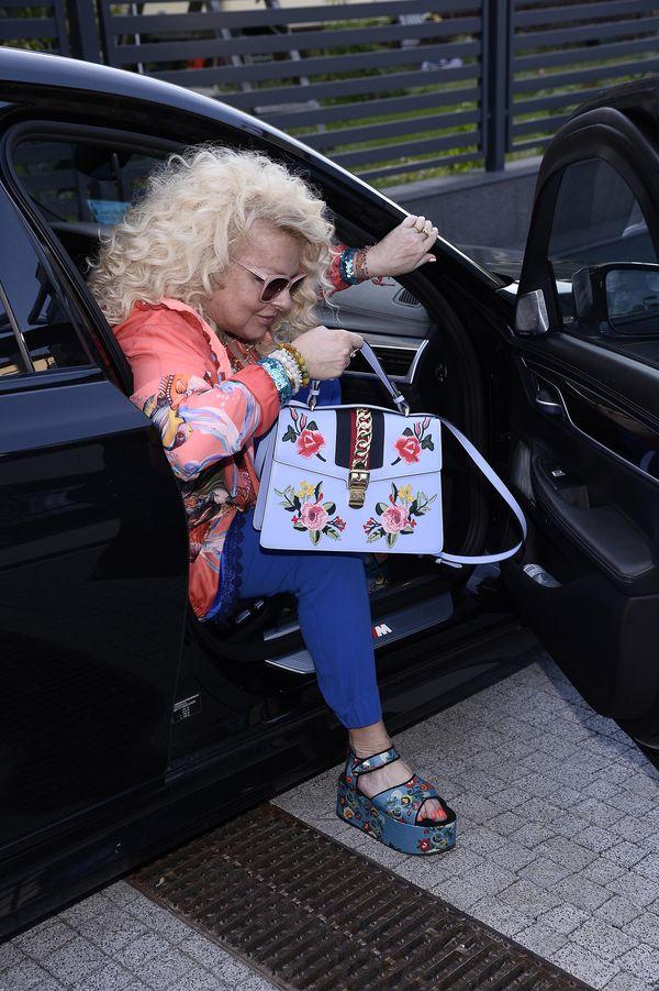 Magda Gessler z torebką za 15 tysięcy złotych, której na pewno jej pozazdrościsz