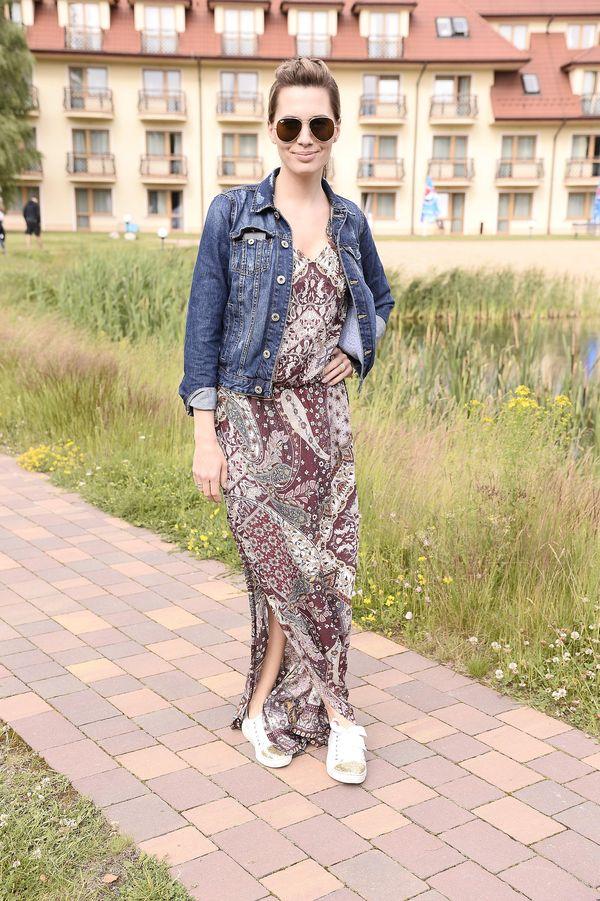 Look idealny na letnią randkę prezentuje Agnieszka Popielewicz (FOTO)