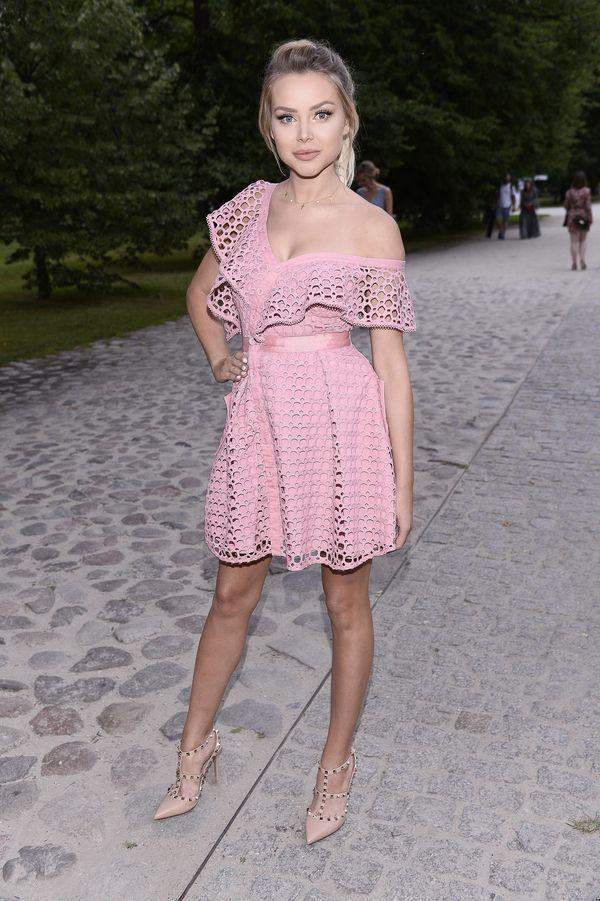 Ola Ciupa w takiej samej sukience jak Małgorzata Rozenek (FOTO)