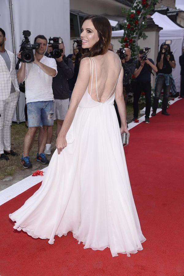 Anna Wendzikowska w kreacji godnej czerwonego dywanu w Cannes (FOTO)