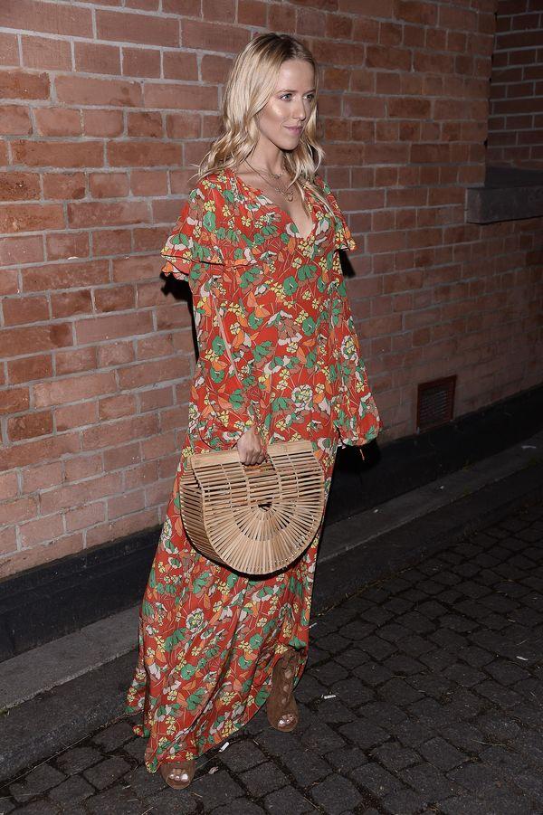 Jessica Mercedes w zachwycającej sukience na pokazie Mariusza Przybylskiego