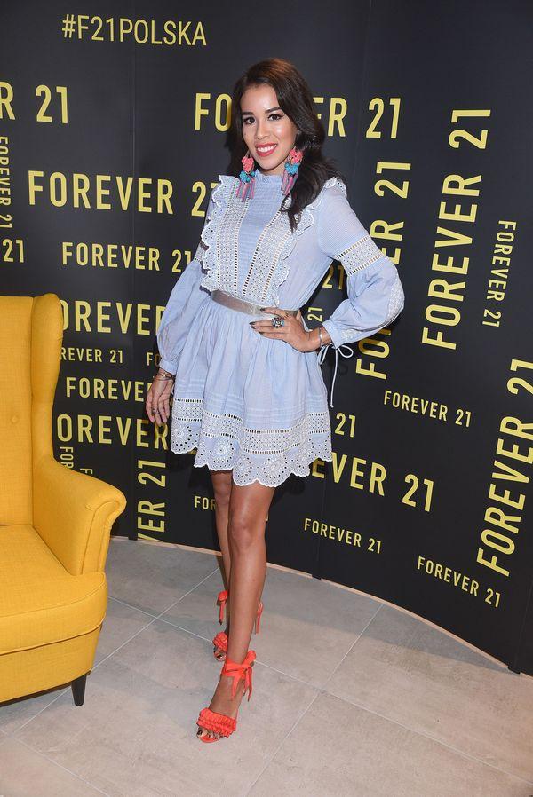 Nie tylko Ola Ciupa zachwycała na otwarciu salonu Forever 21! (FOTO)