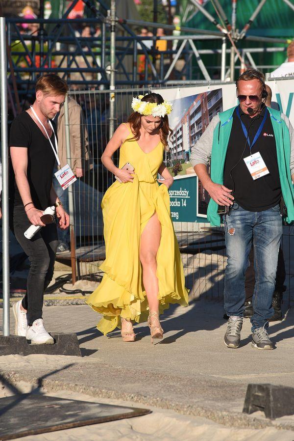 Paulina Sykut w takiej samej sukience jak Anna Lewandowska! (FOTO)
