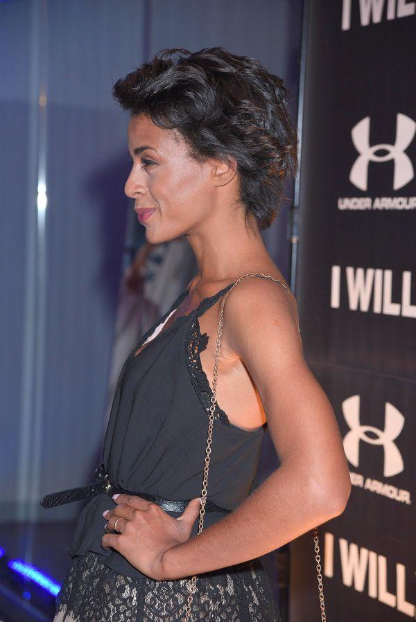 Impreza w klubie fitness? Ola Szwed wyglądała, jakby szła na wesele... (FOTO)