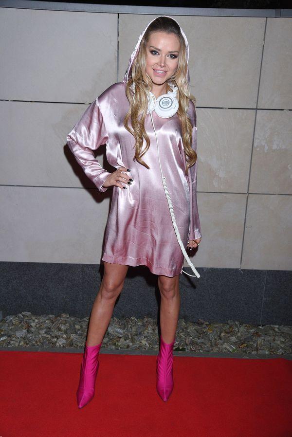 Czy to piżamka? Ola Ciupa tym razem nie popisała się swoją stylizacją... (FOTO)