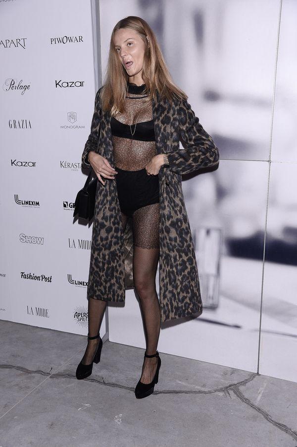 Zobaczie, jak Magdalena Frąckowiak ubrała (ekhm, rozebrała) się na pokaz Jemioła