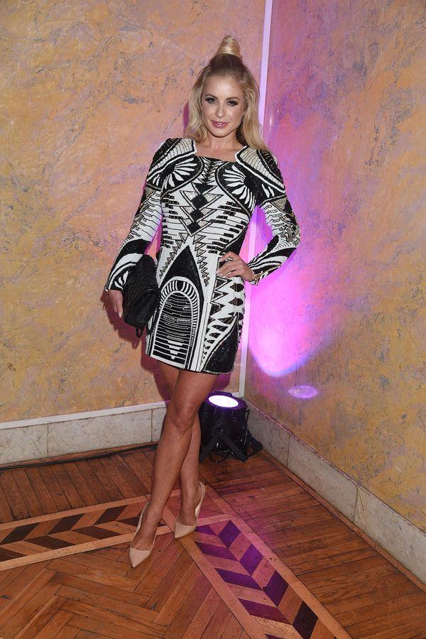 Czekała 2 lata, żeby założyć sukienkę Balmain x H&M? (FOTO)