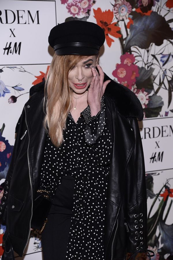 Pani Ekscelencja w blond włosach na imprezie Erdem x H&M. Jak wyglądała? (FOTO)