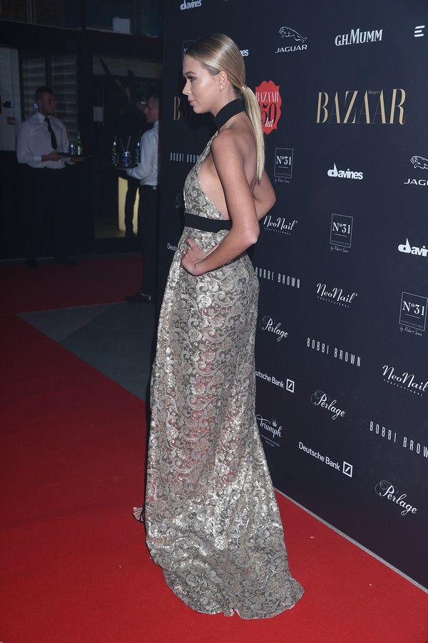 Sandra Kubicka jak milion dolarów na imprezie Harper's Baazar (FOTO)