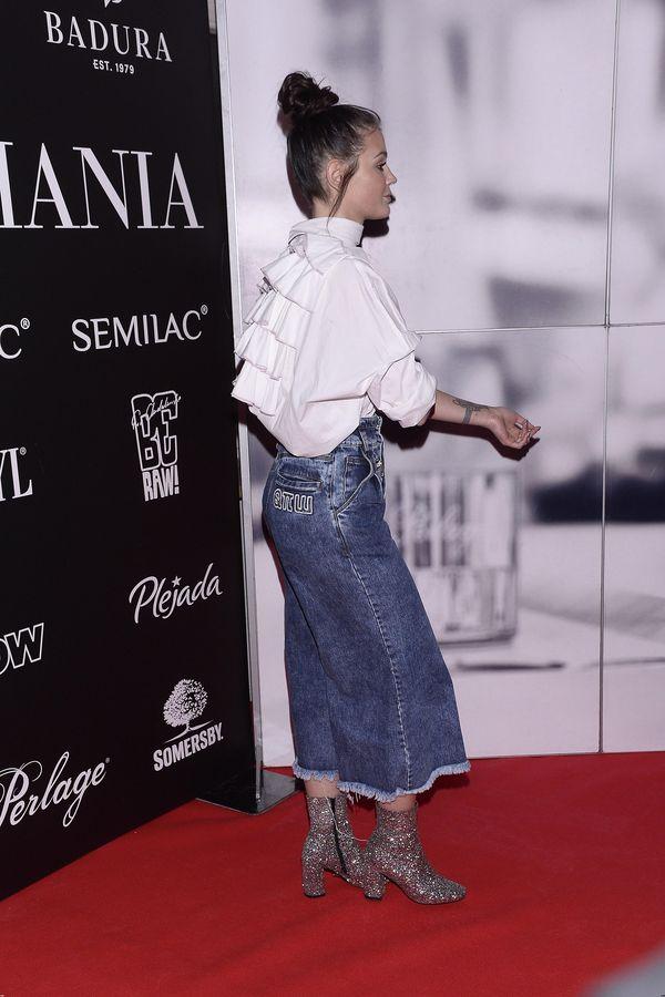 Czy można przesadzić z ilością jeansu? Wg Honoraty Skarbek - nie... (FOTO)