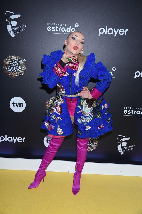 Cleo w sylwestrowej wersji - która stylizacja przypadnie Wam bardziej do gustu?