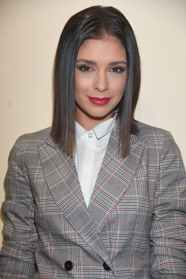 Klaudia Halejcio nie wróćiła do długich włosów - dalej lansuje fryzurę Kim K.
