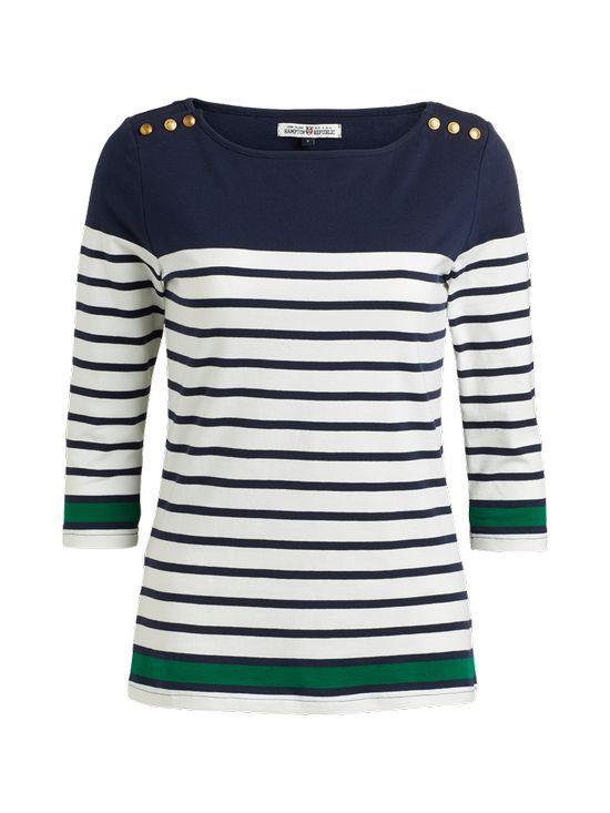 Marynarski styl na lato - Bluzka w paski na kilka sposobów