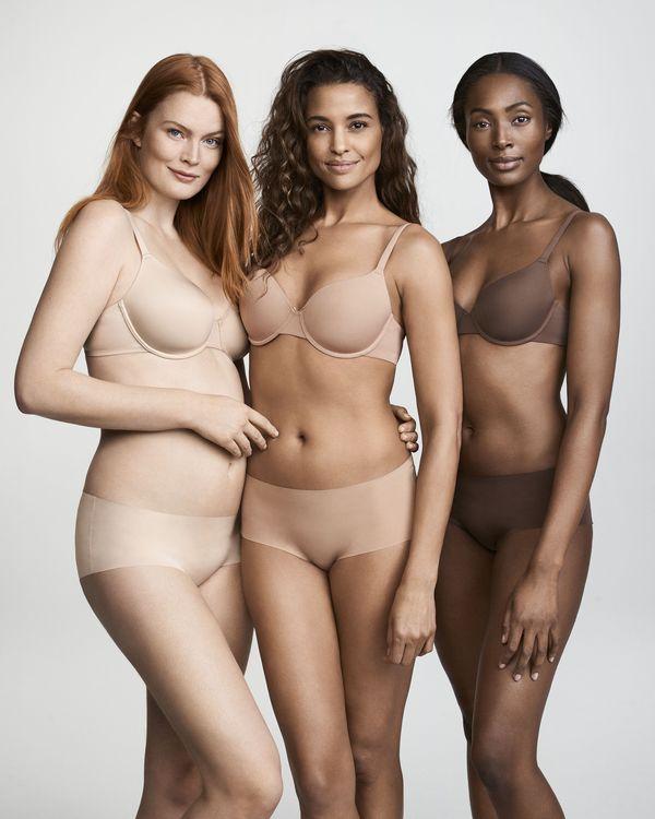 Nie tylko Victoria's Secret proponuje idealną bielizną nude każdej kobiecie!