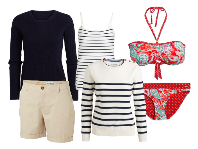 KappAhl na lato proponuje styl marynarski