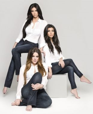 Dżinsy od sióstr Kardashian (FOTO)