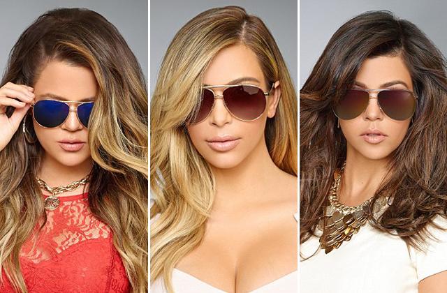 Ekskluzywna (?) edycja okularów Kardashian Kollection