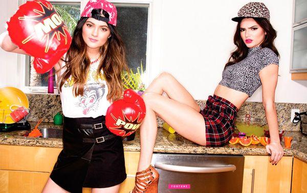 Kendall i Kylie Jenner w kampanii Madden Girl (FOTO)
