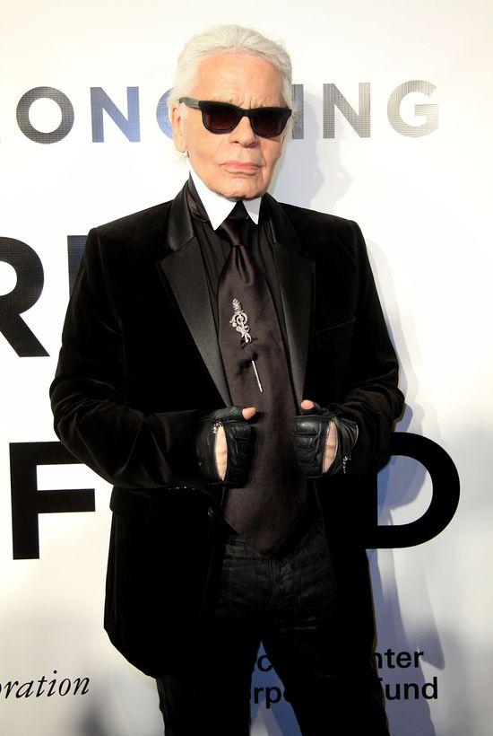 Karl Lagerfeld o Królowej Elżbiecie - Ma nienaganny styl