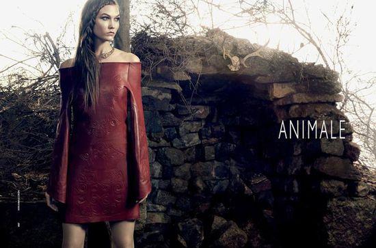 Karlie Kloss z długimi włosami w kampanii Animale (FOTO)