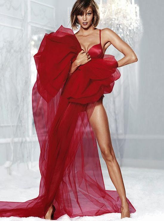 Aniołki Victoria's Secret w listopadowym lookbooku 2013