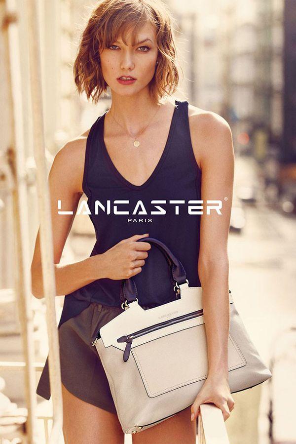 Karlie Kloss w wiosenno-letniej kampanii Lancaster