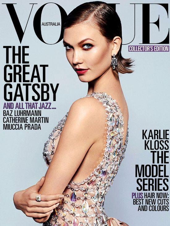 Karlie Kloss na kolejnej okładce pisma Vogue