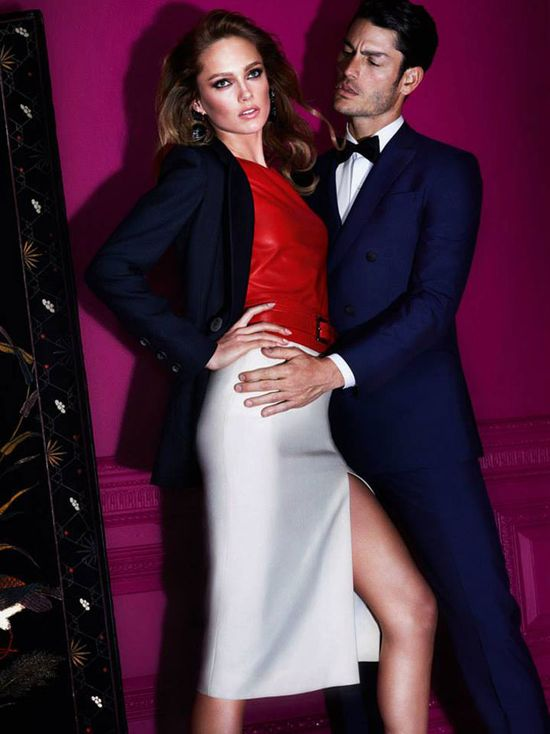 Karmen Pedaru w kampanii Il Bacio di Stile