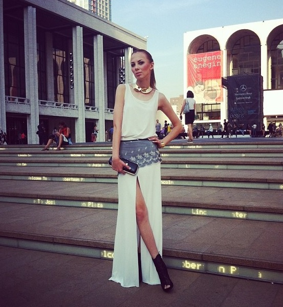 Charlize Mystery jak gwiazda na New York Fashion Week