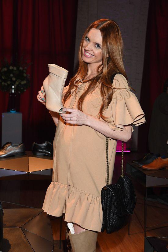 Kasia Buryńska dumnie prezentuje ciażowy brzuszek
