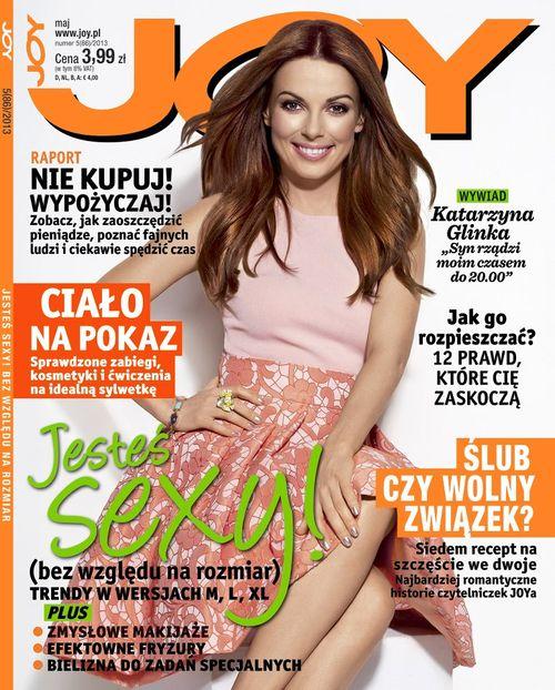 Kasia Glinka gwiazdą najnowszego JOY'a (FOTO)