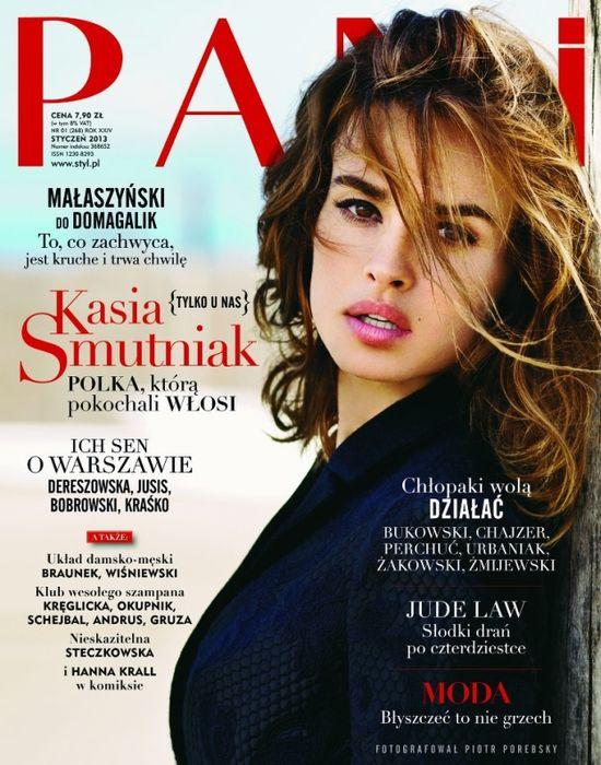 Śliczna Kasia Smutniak w magazynie PANI