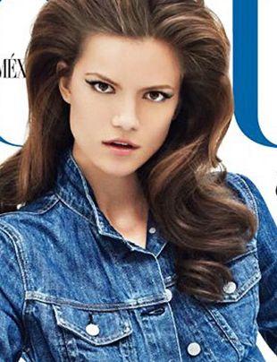 Kasia Struss na kolejnej okładce Vogue'a (FOTO)
