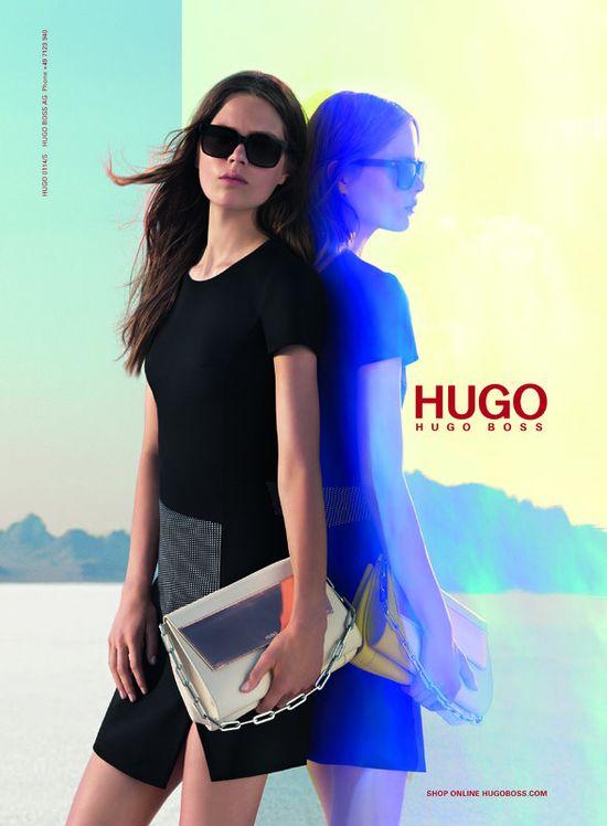 Kasia Struss w surowej wiosennej kampanii Hugo Boss (FOTO)