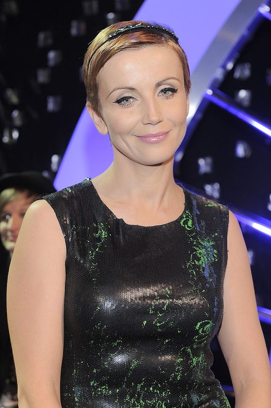 Kasia Zielińska w modnej opasce (FOTO)