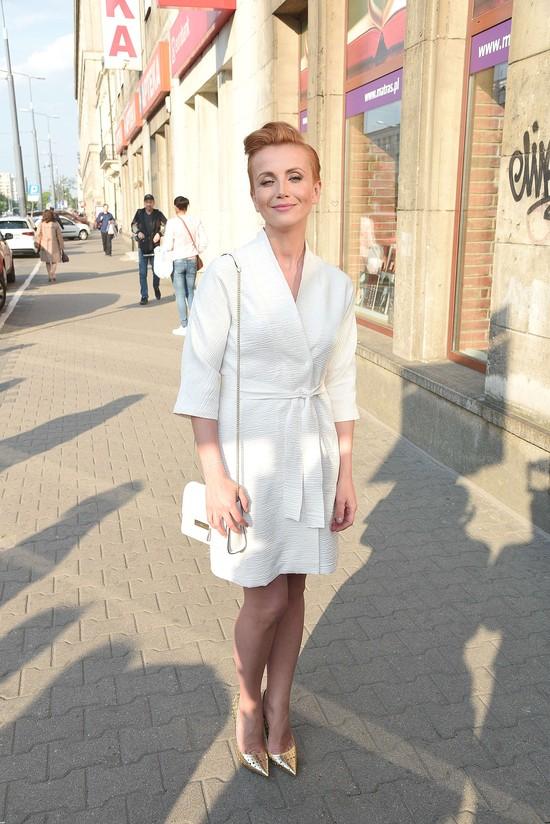 Kasia Zielińska - elegancja w bieli, beżu i złocie