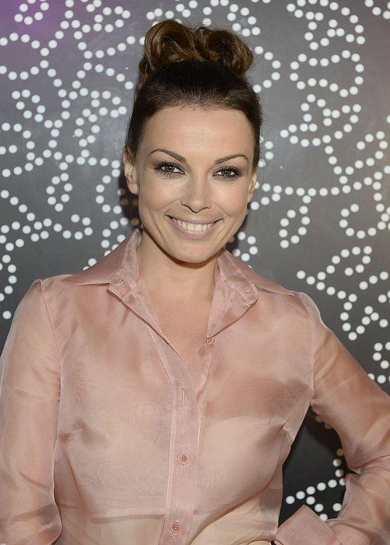 Katarzyna Glinka w ołówkowej spódnicy