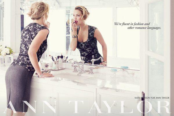 Stylowa Kate Hudson próbuje sił w roli modelki