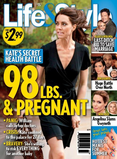 Przeraźliwie chuda Kate Middleton! (FOTO)