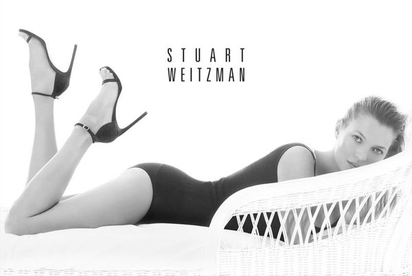 Kate Moss w kampanii Stuarta Weitzmana