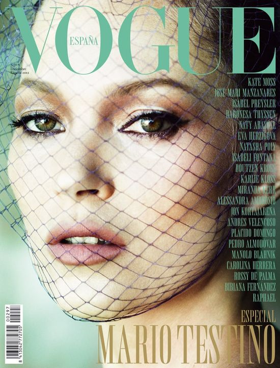 Dostojna Kate Moss w Vogue