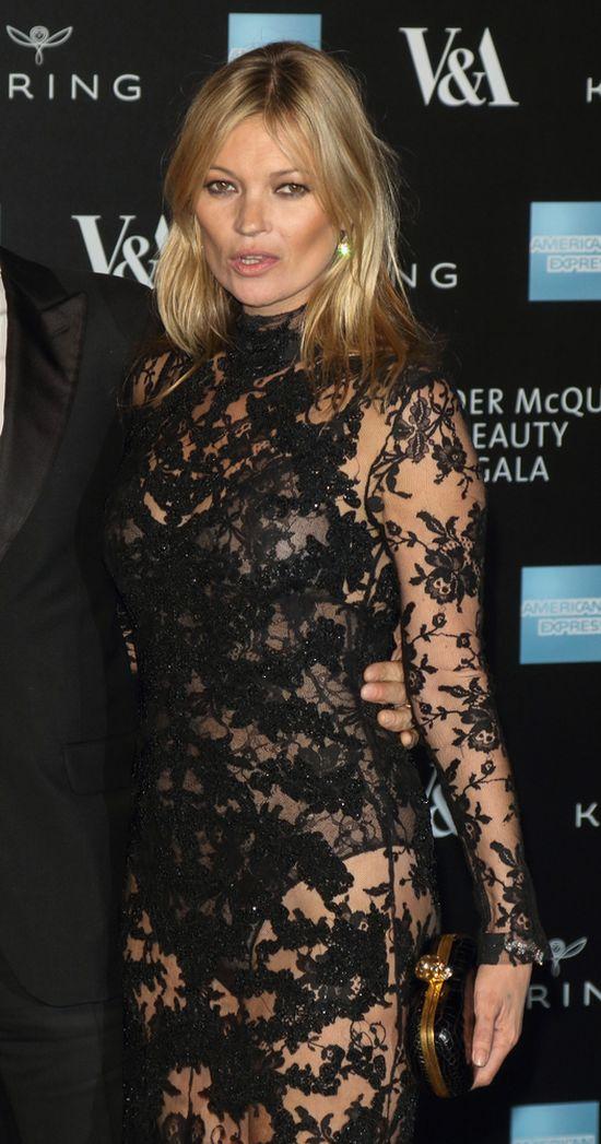 Kate Moss uciążliwą pasażerką - kłóciła się w samolocie...